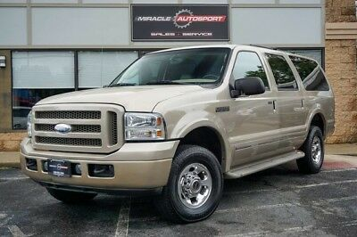 2005 Ford Excursion  v10 limited free shipping warranty 4x4 loaded 2 owner clean carfax cheap finance