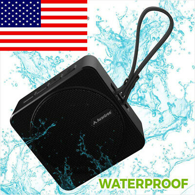 IPX6 Waterproof Portable Wireless Bluetooth Shower SD Card Mini Speaker US SHIP