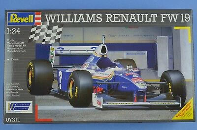 Revell AG 07211 WIlliams Renault FW19 1/24 Scale F1 Racing Car Model Kit 1:24