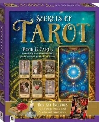 Secret Of The Tarot Cards Box Set Inc Guide Book and 78 Card Deck NEW