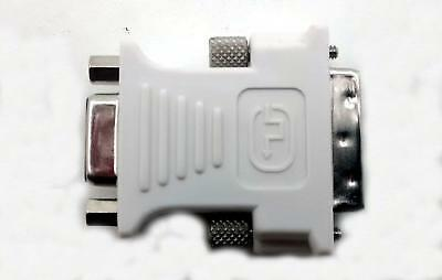 NEW Genuine Dell DVI-A (Male) to VGA (Fem) Video Converter Adapter 0J8461 06D822