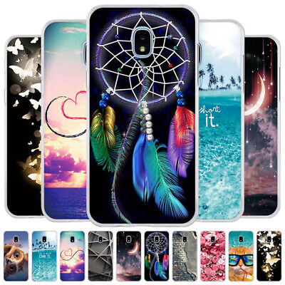 Rubber Silicone TPU Soft Case Cover For Samsung J7 2018/J3 2018/J7 Star/J3 Star