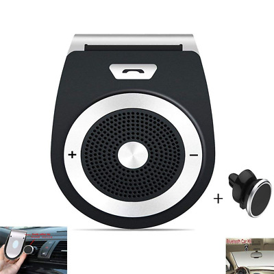 Bluetooth Car Speaker Handsfree Visor Speakerphone Phone for Wireless In-car