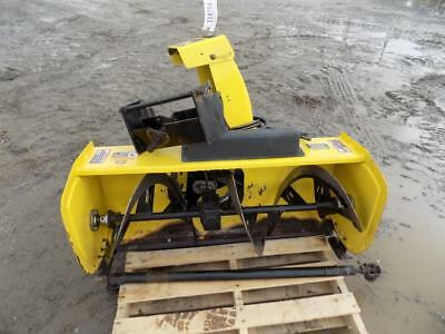 John Deere Compact Front Mount Snow Blower, Hydraulic Chute, 2000 Pto, 2 Stage