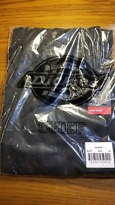 Black Dickies Unisex Cargo Pocket Chef Pants DC12 NWT