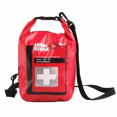 LUCKSTONE 5 Liter Waterproof Emergency First Aid Kit Bag as Outdoor Drying  B7D8