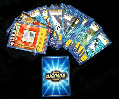 25 x 1999 Digimon Trading Cards - Unchecked