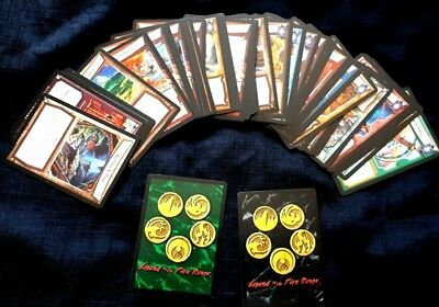 63 x 2002 -04 Legend Of The Five Rings Trading Cards - Unchecked