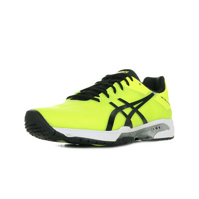 CHAUSSURES ASICS HOMME Gel Solution Speed 3 Tennis taille Jaune Synthétique