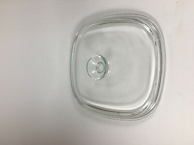 Pyrex Clear Glass Replacement Lid A-9-C - Fits Corning Casserole Dishes
