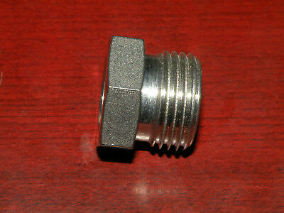 "Swagelok Cajon Stainless Steel VCR Face Seal Fitting 1/2"" Male Nut SS-8-VCR-4"