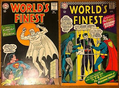 D.C. Worlds Finest 139 And 156- Silver Age Keys FN+ NO RESERVE!!!