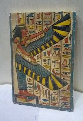 RARE ANCIENT EGYPTIAN ANTIQUE ISIS Stela 1659-1432 BC