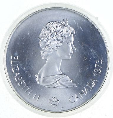Very Collectible - ASW .7227 T Oz Pure SILVER Olympic Canada Commemorative *006