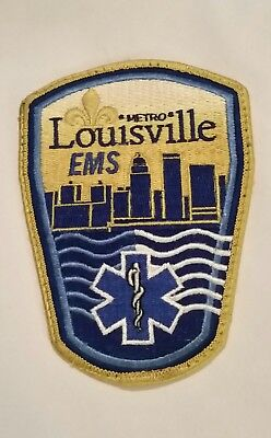 Metro Louisville Kentucky EMS Patch Emergency Services Collectible