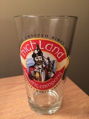Highland Brewing Company--Asheville, North Carolina--Beer Glass--Used