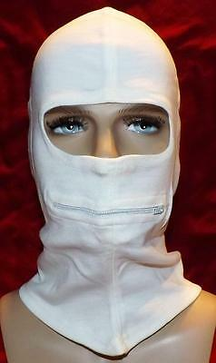 New Italian Military Surplus - Alpine Cold Weather Face Mask - White