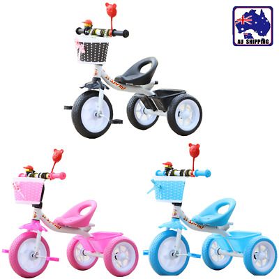Bike Bicycle Tricycle Trike Basket Kids Children Toddler Toy  3 Wheel BTR0020