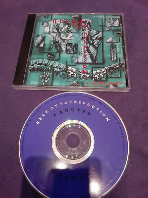 Carcass ‎– Reek Of Putrefaction  CD -  MAYHEM, EMPEROR, DEATHSPELL OMEGA, MARDUK