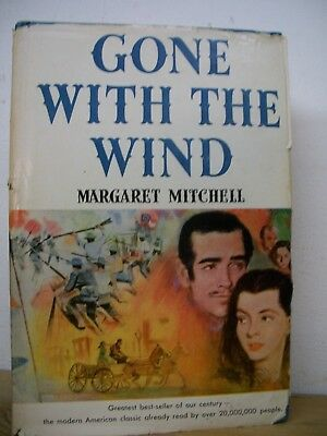 Gone with the Wind by Margaret Mitchell (1936, Hardcover) Novel