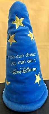 "Disney DVC Cruise ""If You Can Dream it You Can Do It Sorcerer Hat""  ""Very Rare"""