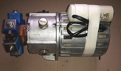 Castellini Skema Thesi - Motor, Pump, Tank, Bypass And Distributor Unit