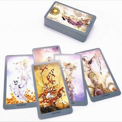 78 Pcs Full Version Shadowscapes Tarot Cards Board Game Party Playing Cards US