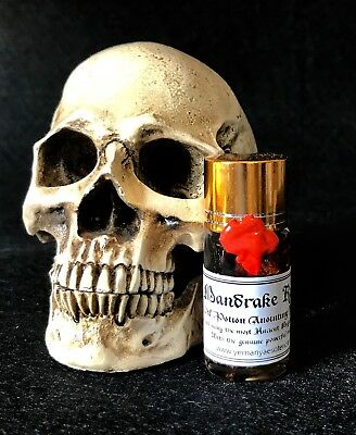 MANDRAKE Oil Esoteric Aceite Esoterico Ritual Spell Magic Witchcraft 15ml.