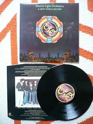 Electric Light Orchestra A New World Record ELO Vinyl UK 1st Press A1/B1 Jet LP
