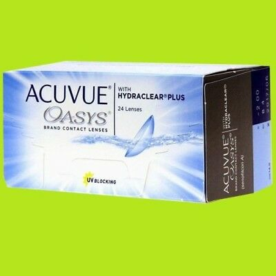 Acuvue Oasys Hydraclear plus (1x24pk lenses / BC 8.4;8.8)