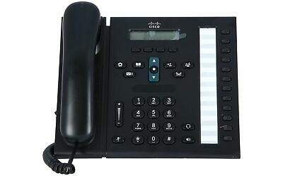 CISCO - CP-6961-C-K9= - Cisco Unified IP Phone 6961, Charcoal, Standard Handset