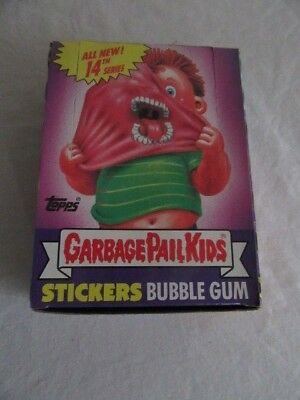 1988 Garbage Pail Kids ALL NEW SERIES 14 WITH POSTER