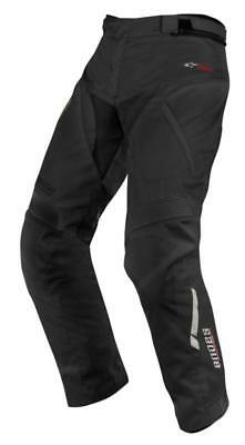Alpinestars Andes Drystar Motorcycle Motorbike Textile Trousers - Black