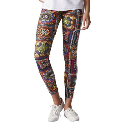 10bc426941551 ADIDAS ORIGINALS X FARM FIREBIRD TREFOIL WOMEN'S LEGGINGS PANTS ...