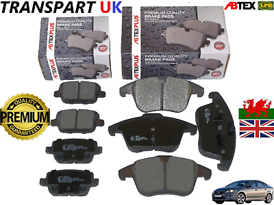 1916756//1917250 NEW GENUINE FORD MONDEO//S-MAX//GALAXY FRONT /& REAR BRAKE PADS