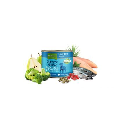 Natures - Country Hunter Mackerel & Chicken Can - 600g