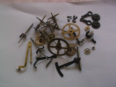 Cogs Etc  From An Old  Made In China Wall Clock  Ref Ch 1