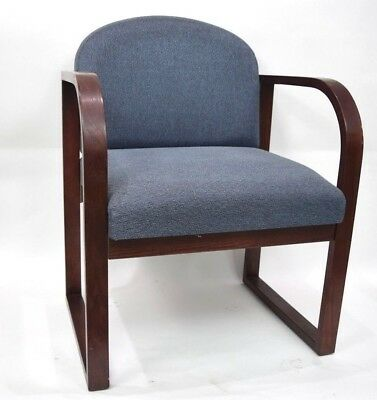 Reception Chair Medical Dental Office Waiting Room Seating Made of Real Wood