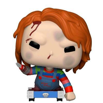 Childs Play - Chucky on Cart Pop! Vinyl - FunKo Free Shipping!