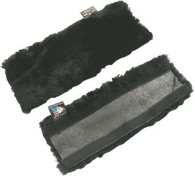 Powertye Sheepskin Strap Covers Black (41122)