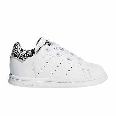 official photos cd34c f8786 Adidas Scarpe Sneakers Stan Smith Bambino Bianco BC0280