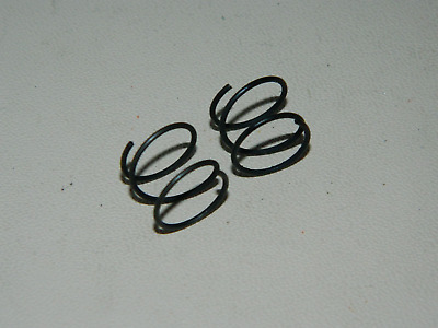 2 x Helical Compression Springs, Steel, Diameter 12.8mm, Length 11.5mm [S6]