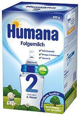 Humana Folgemilch 2 Pulver 700g PZN: 11068573