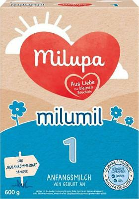 milupa Milumil 1 Anfangsmilch Pulver 600g PZN: 13168416