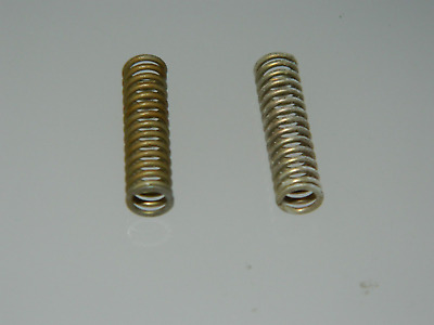 2 x Helical Compression  Springs, Steel, Length 25mm Diameter 6.5mm [A7]