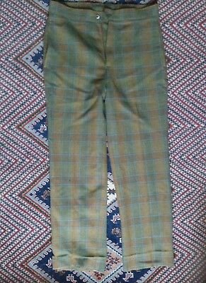 Vintage checkered trousers size M/L