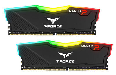 New 2X8Gb Team T-Force Delta Ii Rgb 3000Mhz Ddr4 Gaming Ram Computer Desktop Ram