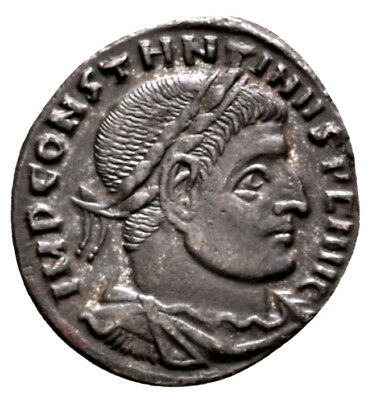 CONSTANTINE THE GREAT (315 AD) AE Follis, Sol Rome #MA 629
