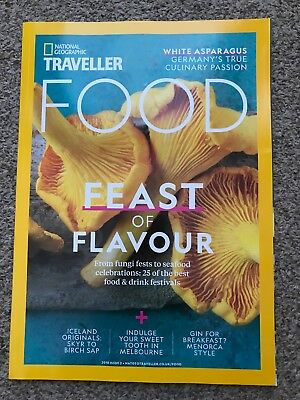 National Geographic Traveller Food Magazine Issue 2 Feast Or Flavour