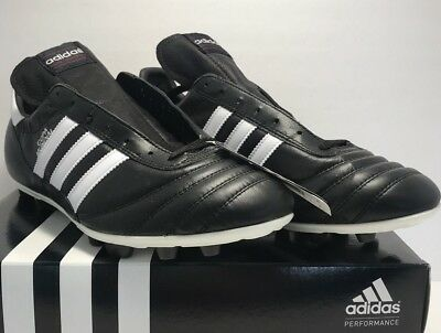 quality design 282dc 75601 Adidas Mens Size 11.5 Copa Mundial Performance Black Leather Soccer Cleats  New